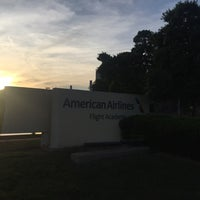 Photo taken at American Airlines Flight Academy / IOC by Brian C. on 4/24/2016