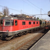 Photo taken at Bahnhof Elgg by Dominic H. on 3/31/2014
