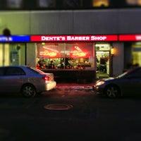 Photo taken at Dentes Barber Shop by Brad K. on 1/3/2013