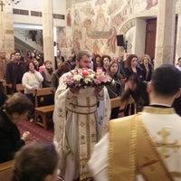 Photo taken at Saydet El Zalzale Church by Tony A. on 3/23/2014