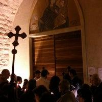 Photo taken at Saydet El Zalzale Church by Tony A. on 4/20/2014