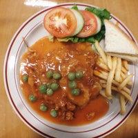 Photo taken at Tiffany Vegetarian Food by lauren on 8/9/2014