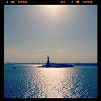 Photo taken at Liberty Island by Joshua M. on 5/4/2013
