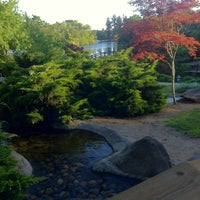 Photo taken at Shinzen Japanese Garden by Alex B. on 5/26/2013
