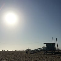 Photo taken at Beach Life Guard Post 18 by Tim G. on 4/21/2014