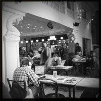 Photo taken at Vooruit Café by vooruit on 8/4/2014