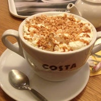 Photo taken at Costa Coffee by Anna on 12/21/2012
