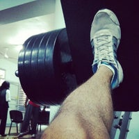 Photo taken at Giscombe's Gym by StunnerJ on 1/7/2014