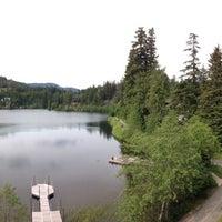 Photo taken at Nita Lake Lodge by Sarah on 6/16/2013