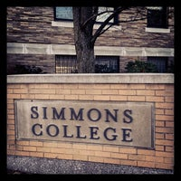 Photo taken at Simmons College School of Management and Academic Building by Jessica H. on 1/8/2014
