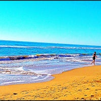 Photo taken at Platja de Calafell by Pere P. on 12/9/2012