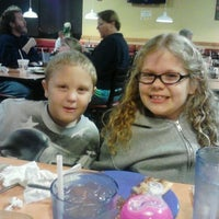 Photo taken at Gatti's Pizza at Karns by Tanya H. on 11/26/2012
