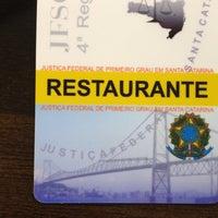 Photo taken at Mirantes Restaurante - JFSC by Inês W. on 9/13/2013