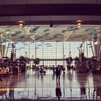 Photo taken at Concourse A by Jeremy H. on 6/21/2013