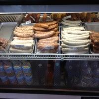 Photo taken at Rosamunde Sausage Grill by Mango C. on 12/30/2012