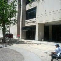 Photo taken at Memorial Library by Tamara J. on 6/7/2013