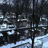 Photo taken at Montmartre Cemetery by Romain on 1/22/2013