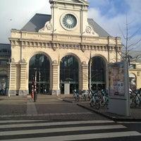 Photo taken at Gare de Namur by Eric D. on 3/17/2013