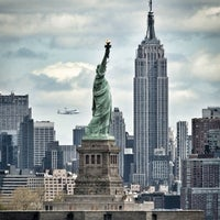 Photo taken at Statue of Liberty by Alvaro   on 5/22/2013