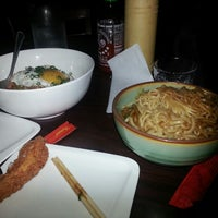 Photo taken at Chubby Noodle by Regina W. on 3/28/2013