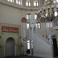 Photo taken at Akbaba Mehmet Efendi Camii by Levent Z. on 6/30/2013