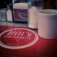 Photo taken at Bill's Luncheonette by Jeff K. on 4/26/2014