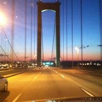 Photo taken at Delaware Memorial Bridge by Bill on 5/13/2013