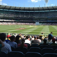 Photo taken at MCG by Paul G. on 12/25/2012