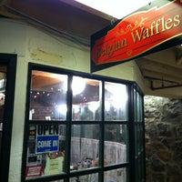 Photo taken at Belgique Belgian Waffles by Erin H. on 12/20/2012