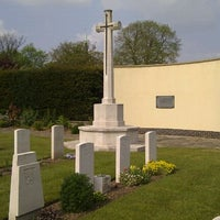 Photo taken at Hornchurch Cemetery by frogplate on 4/17/2011