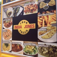 Photo taken at India Jones Chow Truck by Kyle P. on 7/1/2013