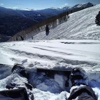Photo taken at Back Bowls at Vail by Julian G. on 2/12/2013
