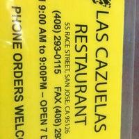 Photo taken at Las Cazuelas Restaurant by Robert R. on 1/12/2013
