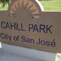 Photo taken at Cahill Park by Robert R. on 10/17/2012
