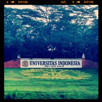 Photo taken at Universitas Indonesia by Palupi R I. on 6/30/2013