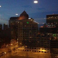 Photo taken at Rooftop Bar by Tim R. on 11/29/2012