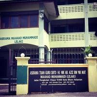 Photo taken at Maahad Muhammadi Lelaki (MML) by Azril R. on 12/1/2013