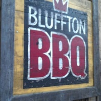 Photo taken at Bluffton BBQ by Heather on 10/11/2012