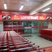 Photo taken at LotteMart by Indra S. on 2/2/2013