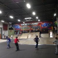Photo taken at Skateland by Alexandra v. on 5/28/2014