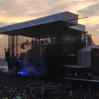 Photo taken at The Star Pavilion at Hersheypark Stadium by David T. on 7/14/2013