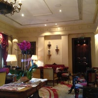 Photo taken at The Lanesborough, a St. Regis Hotel by Llewellyn F. on 2/18/2013
