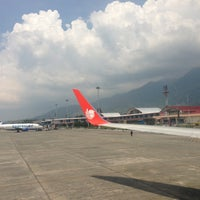 Photo taken at Sentani International Airport (DJJ) by Aria S. on 12/5/2012