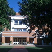Photo taken at Wake Forest School of Law by Lisa S. on 9/25/2012