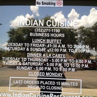 Photo taken at Indian Cuisine by Susan M. on 7/29/2013