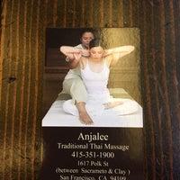 Photo taken at Anjalee Thai Massage by Anna W. on 2/9/2014