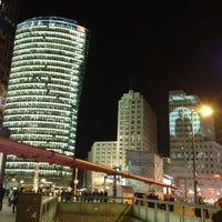 Photo taken at Potsdamer Platz by Pehman M. on 10/18/2012