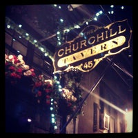 Photo taken at The Churchill by Stephen P. on 11/21/2012