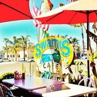 Photo taken at Swamis Cafe by Aracely V. on 4/10/2013
