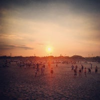 Photo taken at Jacob Riis Park by Misha I. on 7/18/2013